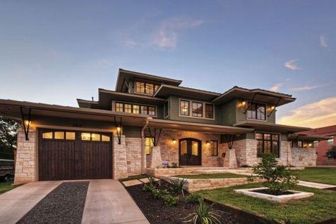 Plan 14469RK: Prairie Style Home Plan | Luxury houses, Photo ...