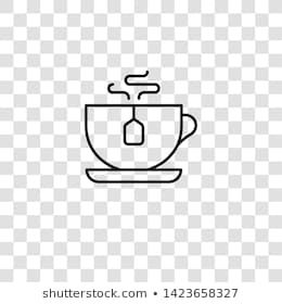 teacup icon from high tea collection for mobile concept and web apps icon transparent outline thin line teacup icon in 2020 white coffee mugs tea cups tea collection teacup icon from high tea collection