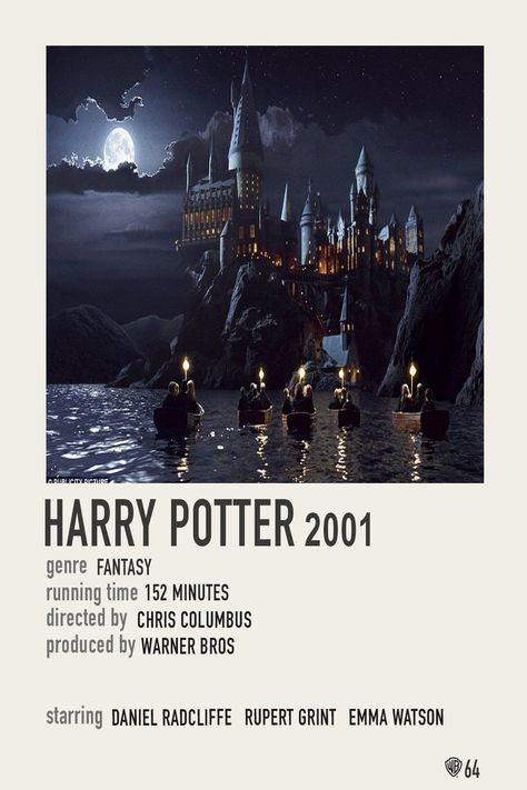 Simple Polaroid Movie Poster: Harry Potter