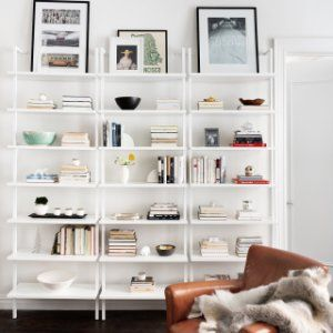 Stairway White Wall Mounted Bookshelf Reviews Cb2 Home Bookcase Wall Mounted Bookshelves