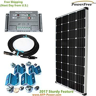 Monoplus Solar Cell 150w 150 Watt Panel Charging Kit For 12v Battery Rv Boat Solar Panels For Home Solar Panels Solar Cell