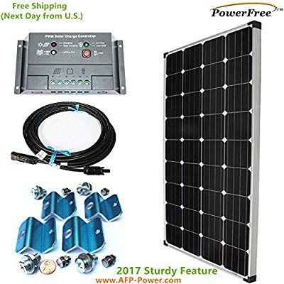Monoplus Solar Cell 150w 150 Watt Panel Charging Kit For 12v Battery Rv Boat Solar Panels For Home Solar Panels Best Solar Panels