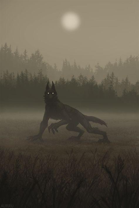 Fog by Aurru on DeviantArt – Dark fantasy Scary Art, Fantasy Artwork, Werewolf Aesthetic, Creature Art, Art, Monster Art, Dark Fantasy Art, Dark Creatures, Mythical Creatures Art
