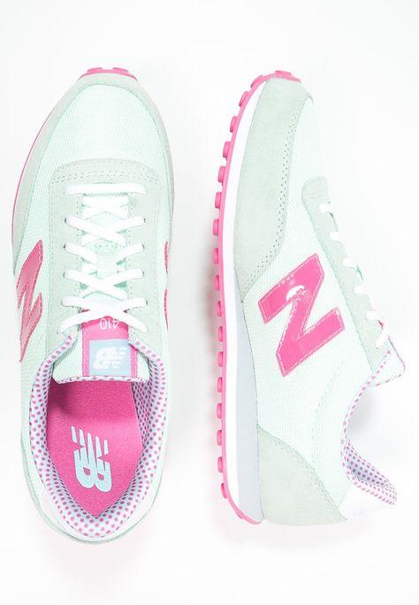 Diese coolen Sneaker kleiden die sportliche Frau von heute. New Balance WL410 - Sneaker low - sea foam/flamingo für 84,95 € (18.05.16) versandkostenfrei bei Zalando bestellen.