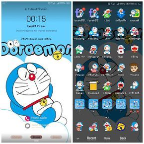 Doraemon Theme For Emui Di 2020 Animasi Seni Dan
