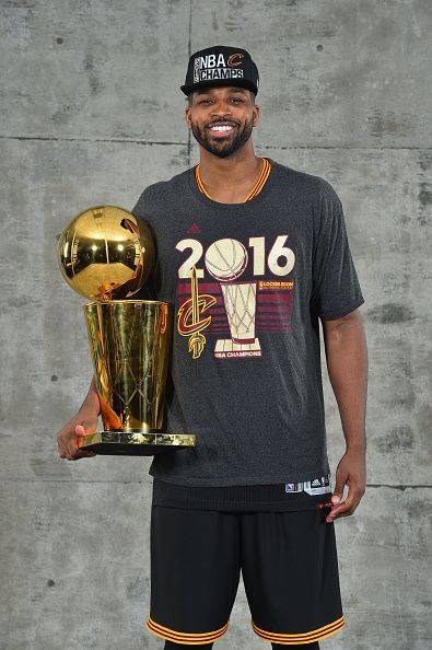 Tristan Thompson of the Cleveland Cavaliers poses for a portrait