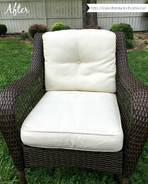 How To Easily Remove Mildew Stains From Outdoor Cushions Outdoor