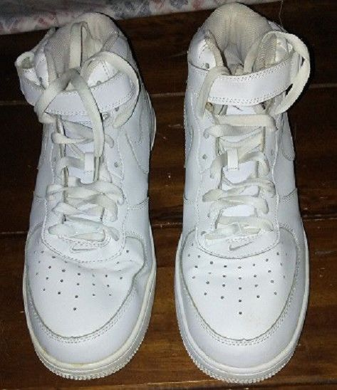 Nike Air Airforce 1 White 2009 High top Size 11 Sneakers