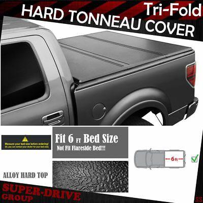 Fits 09-19 Dodge Ram 1500 2500 3500 Pickup 5.5FT Solid Tri-Fold Tonneau Cover