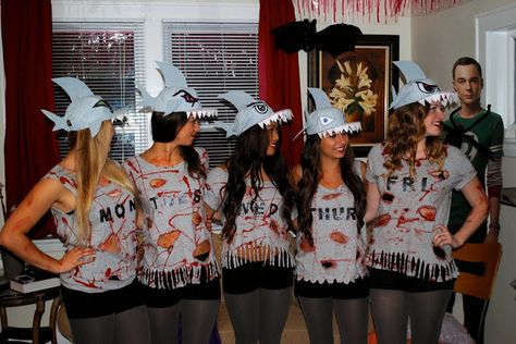 That Flour Child: Shark Week Halloween Group Costume
