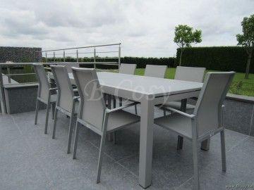 Gescova Azur Lugano Table de repas jardin Rectang ...