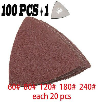 Ad Ebay Url 101pcs Sandpaper Sandings Pads Oscillating Multi Tool For Fein Multimaster Saw In 2020 Oscillating Tool Multitool Sandpaper