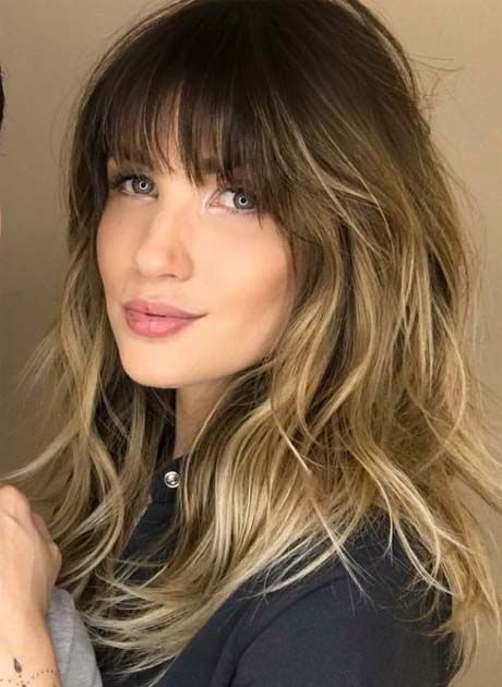 Long Layered Wavy Hairstyles 2018 2019 Latest Fashion Trends Hottest Hairstyles Ideas Inspiration Hair Styles Wavy Hairstyles Medium Long Hair With Bangs