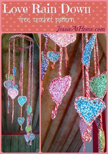 Love Rain Down ~ free crochet pattern by Jessie At Home