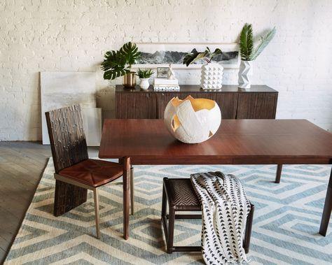 Mcguire X Baker Furniture Baker Furniture Dining Room Furniture