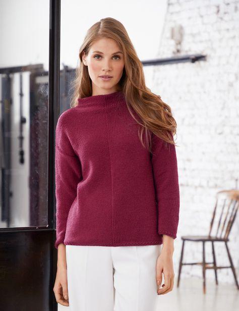 Lana Grossa JACKE Cool Wool Big Melange Merino Edition No