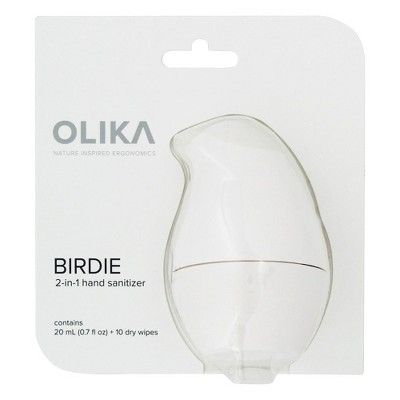 Birdie By Olika Eggshell Hand Sanitizer 0 7oz Spray And 10ct