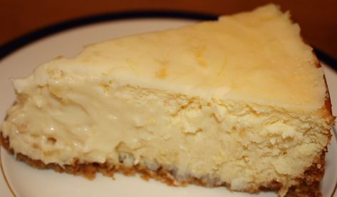 Hawaiian Cheesecake (Click on photo for drool mode!)  Crust: 5½ ounces graham crackers (10-1/3 crackers) ¾ cup macadamia nuts, toasted 2½ tablespoons unsalted butter 1 tablespoon sugar  Filling: 4 (8 ounce) packages cream cheese, room temperature 1¼ cups sugar 5 eggs 3½ ounces drained crushed pineapple 1 teaspoon vanilla extract 1 cup shredded coconut  Topping: ¾ cup sour cream ¼ cup confectioner's sugar 1 tablespoon drained crushed pineapple