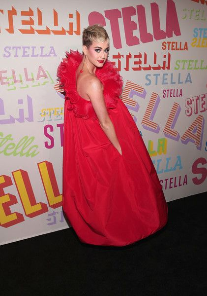 Katy Perry attends Stella McCartney's Autumn 2018 Collection Launch.