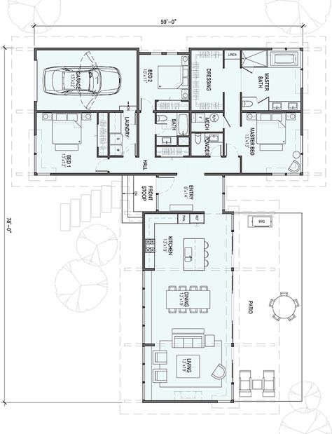 104 best Plan maison images on Pinterest Contemporary homes, Floor