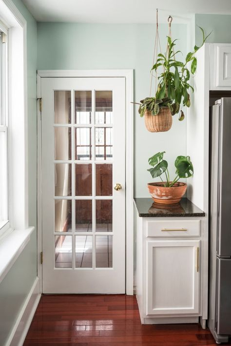 """""""Plants create some life in the room and bring in a natural element that every room needs,"""" says interior designer Veronica Solomon of Casa Vilora Interiors."""