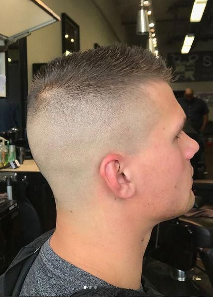 Mens Hairstyles Big Nose Menshairstyles Military Haircut Mens Hairstyles Short High And Tight Haircut