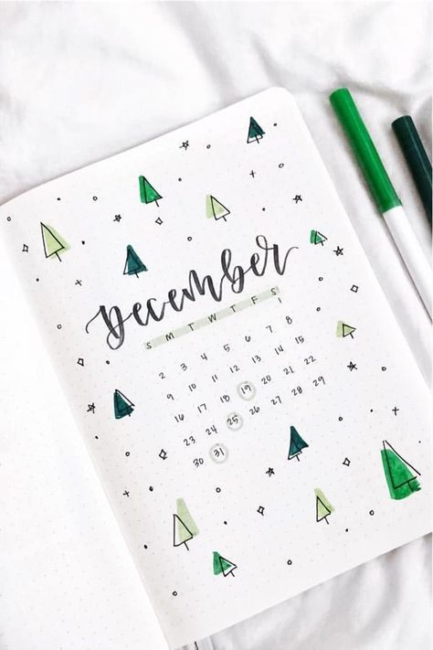 Best Green Themed Bullet Journal Spreads For 2020 – Crazy Laura – Scrapbooking İdeas For İdeas. Bullet Journal School, Bullet Journal Christmas, Bullet Journal Inspo, Bullet Journal Cover Ideas, December Bullet Journal, Bullet Journal Banner, Bullet Journal Notebook, Bullet Journal Aesthetic, Bullet Journal Spread