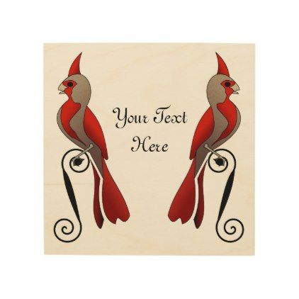 Pyrrhuloxia Pretty Cardinal Family Bird Wood Print Wood Print Wood Wall Art Family Bird