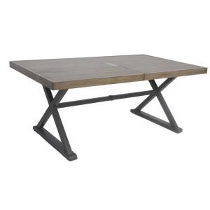 This Dining Table Brings A Rustic Cottage Charm With Its Visible Wood Grain And Elegant Curves The Trestle Base Farmhouse Feel That Makes