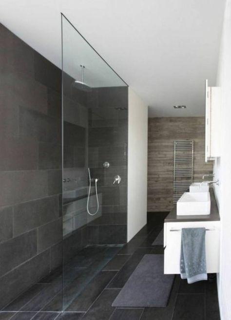 Badezimmer Ideen Begehbare Dusche In 2020 Badezimmer