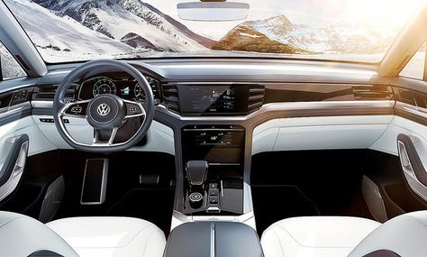 Vw Atlas Cross Sport 2020 Motor Ausstattung Autozeitung Volkswagen Und Motor