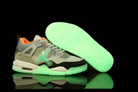 los angeles 08998 d37e7 New Glow In The Dark Air Jordans 4 Black Pink Cement Grey Shoes Shop   Air  Jordan V Basketball Shoes   Wholesale nike shoes, Air jordan shoes, Yeezy  shoes