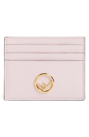d26a6aaa Fendi Leather Card Case   Womens Wallet Styles   Leather card case ...