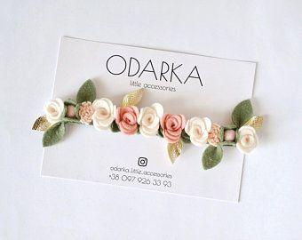 infant headband baby headband Spring Summer  Floral headbands children/'s photo props felt flower headband newborn headbands