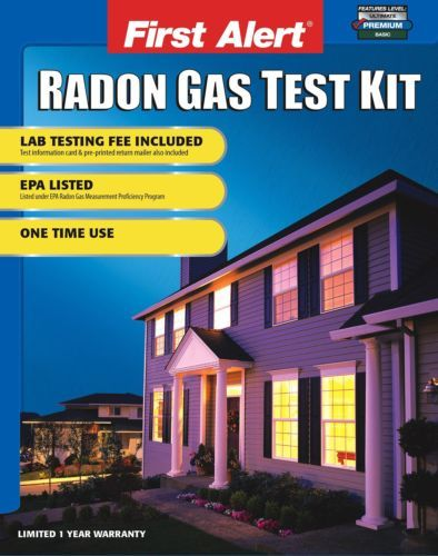 First Alert Rd1 Radon Test Kit Ebay Radon Testing Radon Gas Radon
