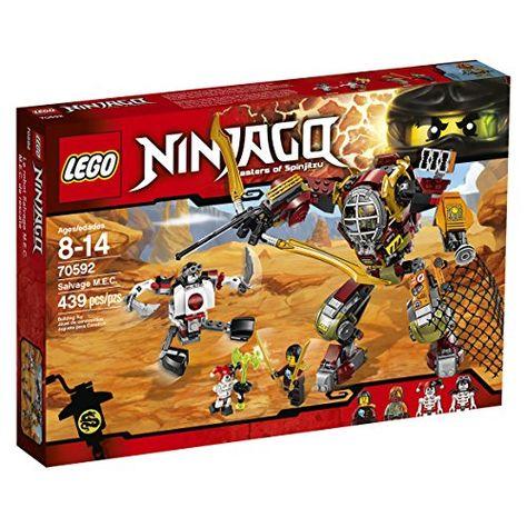 Lego Ninjago 70592 Salvage Mec Building Kit 439 Piece