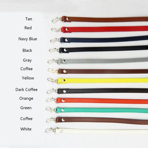 2019 120cm Leather Shoulder Bag Strap Accessories DIY Crossbody  Adjustable Belt