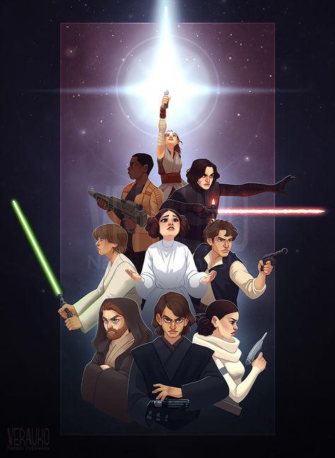 The Force Around Us by verauko on DeviantArt