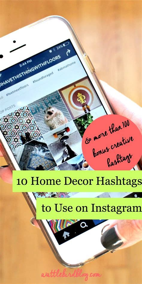 Best Home Decor Instagram Hashtags Interior Design Hashtags
