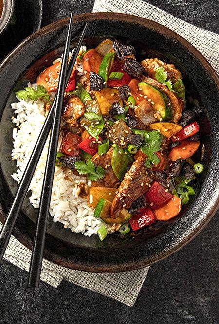 Try This Recipe Sweet And Tangy Pork And Vegetable Stir Fry Pork Stir Fry Recipes Chinese Pork Recipes Pork Recipes
