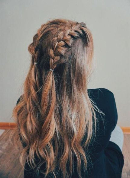 Long Hair Braids Are The Perfect Way To Stay Cool Whether You Re Going To All The Cool Music Festivals Or In 2020 Medium Hair Styles Braids For Long Hair Hair Styles