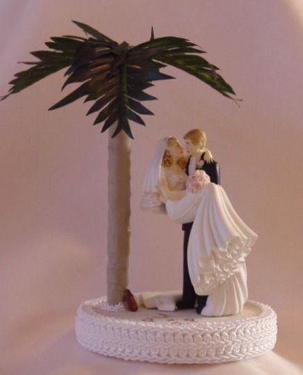 Small Wedding Beach Cake Toppers Wedding Topper Beach Wedding