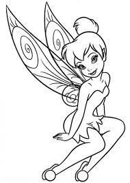Resultado De Imagen Para Tinkerbell Coloring Pages