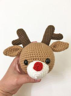 Amigurumi em Crochê Rena | Rena, Croche coruja, Amigurumi | 314x235