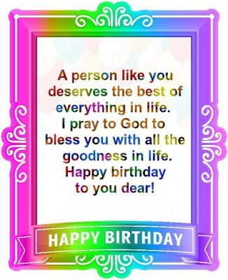LIFT YOUR SPIRITS UP !!!: BIRTHDAY BLESSINGS AND WISHES