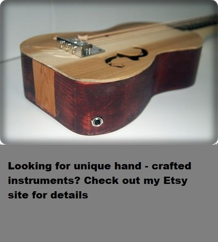 Cigar Box Guitar String Set Low//Middle//High Acoustic Light 3-string Open GDG