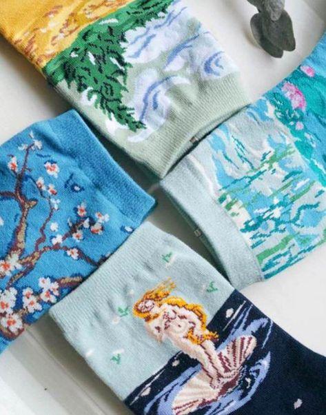 Women Novelty Cartoon Sushi Salad Salmon Patchwork Cotton Japanese Style Socks