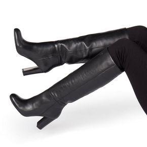 SIMONNE - High Heel Knee High Boot