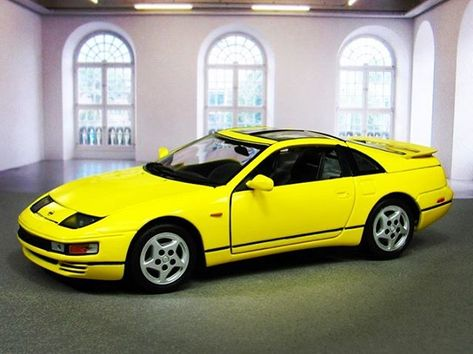 happy Nissan 300ZX by Kyosho in 1/18...