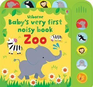 Baby S Very First Noisy Book Zoo Usborne Books More Babies Will Love Discovering The Splashing Penguins Mischevou Usborne Books Animal Books Kids Literacy
